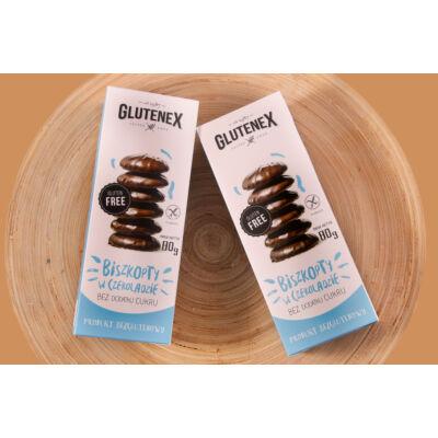 Glutenex babapiskóta csokoládéban 80g