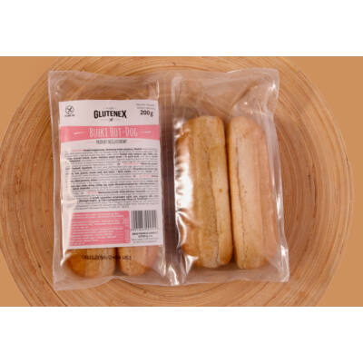 Glutenex hot dog kifli -4 db 200g