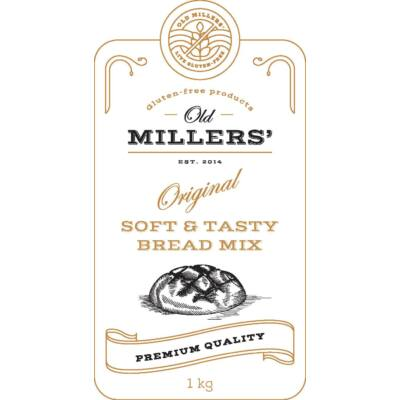 Old Millers' Original Soft & tasty bread mix 1kg