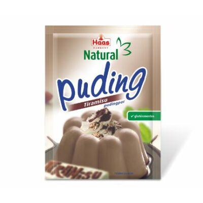 Haas tiramisu ízű pudingpor 40g