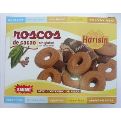 Sanavi Roscos kakaós karikák 150g