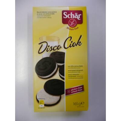Schar Disco Chocolate O's keksz 165g /OÉTI 10887/