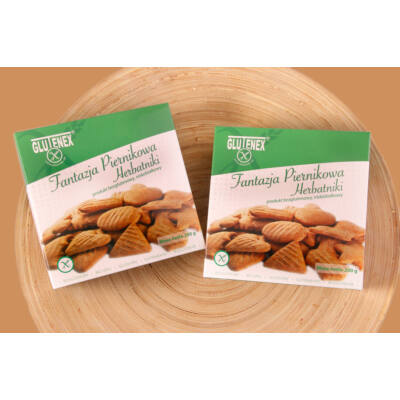 Glutenex fantázia keksz- mézeskalács ízű 200g