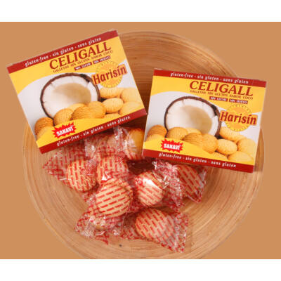 Sanavi Celigall kókuszos keksz 150g /OETI:42/2004/
