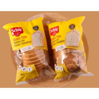 Schar Classic gluténmentes szeletelt fehér kenyér 300g (1651)