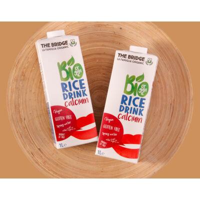 Bridge Bio rizstej natur + kálcium 1 l