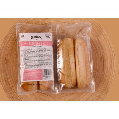 Glutenex hot dog kifli -4 db 200g