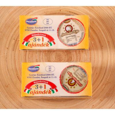 Eurofood csirke májaskrém 3+1 200g