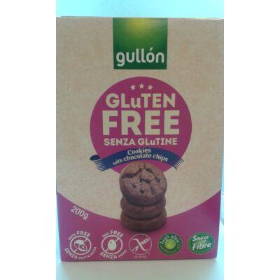Gullon choco chips - keksz csokidarabokkal 200g