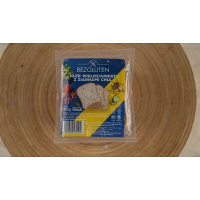 Bezgluten gluténmentes sokmagvas kenyér chia maggal 200g