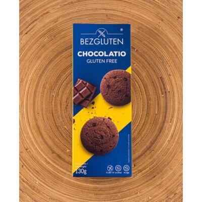 Bezgluten gluténmentes csokidarabos csokis keksz 130g
