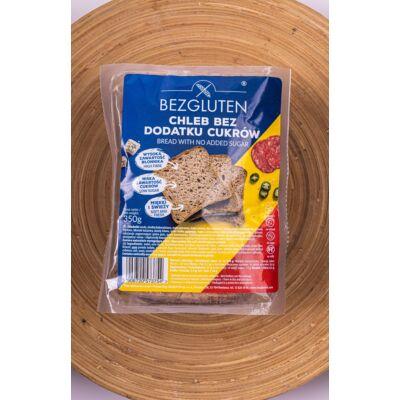 Bezgluten gluténmentes kenyér, hozzáadott cukor nélkül 350g