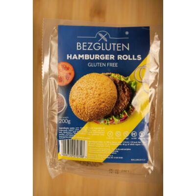 Bezgluten gluténmentes hamburger zsemle 200g