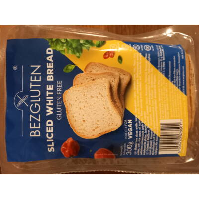 Bezgluten gluténmentes fehér kenyér 300g