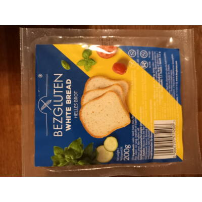 Bezgluten gluténmentes fehér kenyér 200g