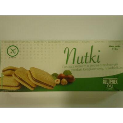 Glutenex krémmel töltött keksz /PKU/ 110g
