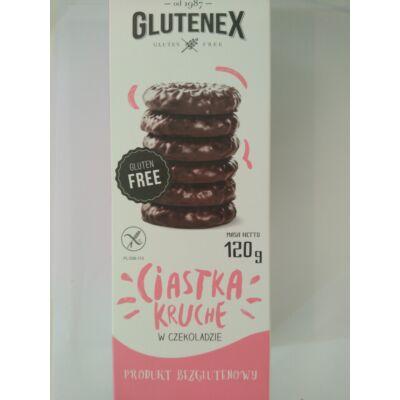Glutenex csokoládés linzerkarika 120g
