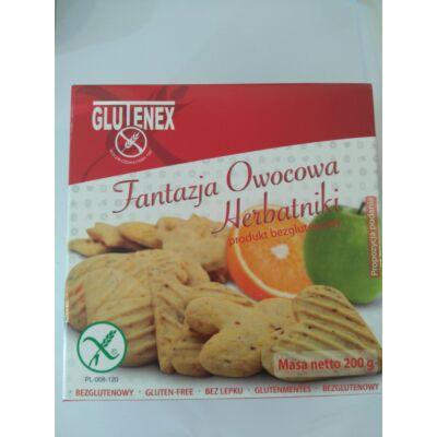 Glutenex gyümölcsös fantázia keksz 200g
