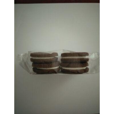 Mlinotest vaníliás krémmel töltött kakaós keksz 57,5g