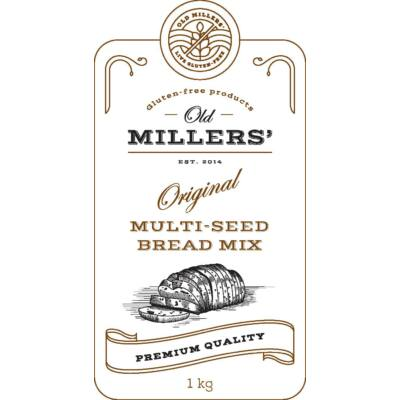 Old Millers' Original Multi-seed bread mix 1kg