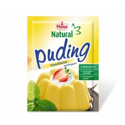 Haas vaníliás pudingpor 40g